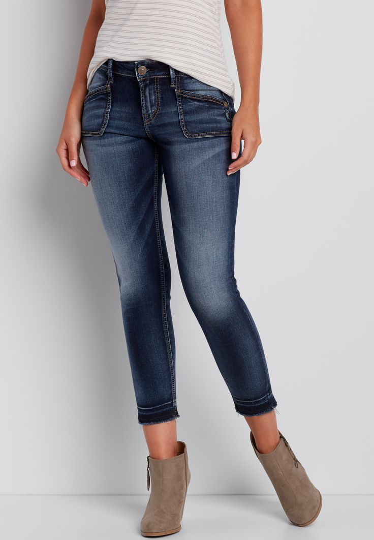 178 best denim images on Pinterest | Comfy casual, Silver jeans ...