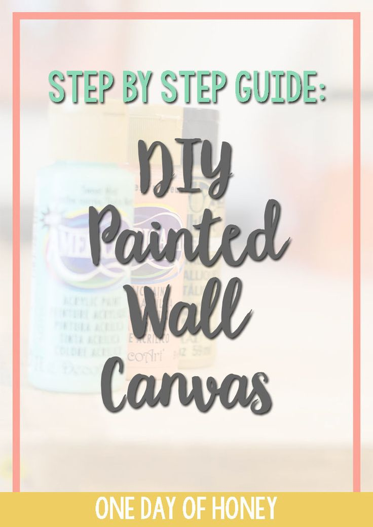 Think fabulous wall art can only be bought? THINK AGAIN! Click now to see my tutorial on how to DIY your own wall art canvas! #walldecor #wallart http://www.onedayofhoney.com/blog/diywallartcanvas