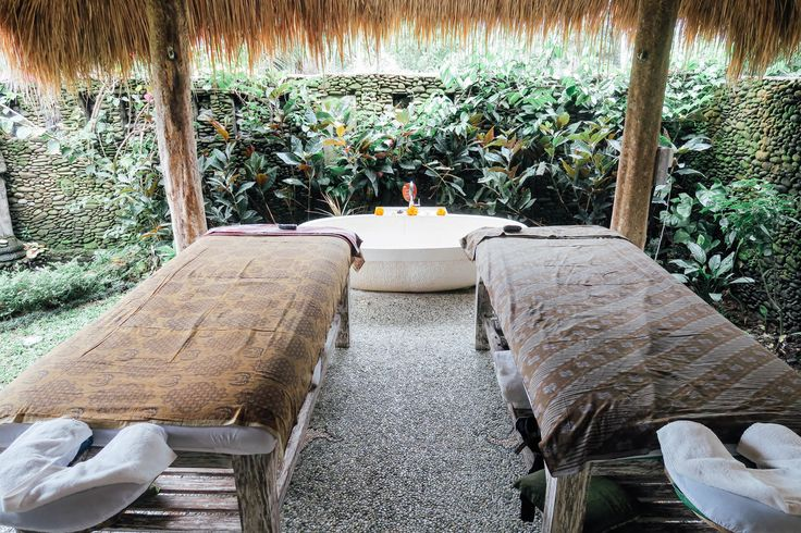 Karsa Spa. A spa in the middle of the rice paddy fields of Ubud, Bali. #bali #ubud #travel  clarintatravels.com
