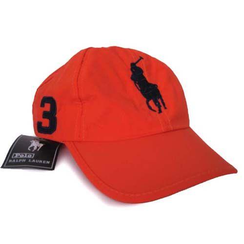 Ralph Lauren Timeworn Chino Hat Red