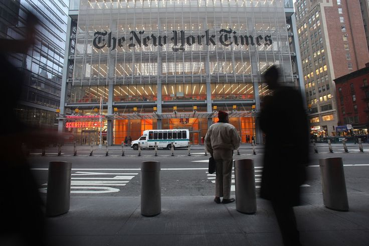 #NYT #accuses #woman of pretending to be reporter...