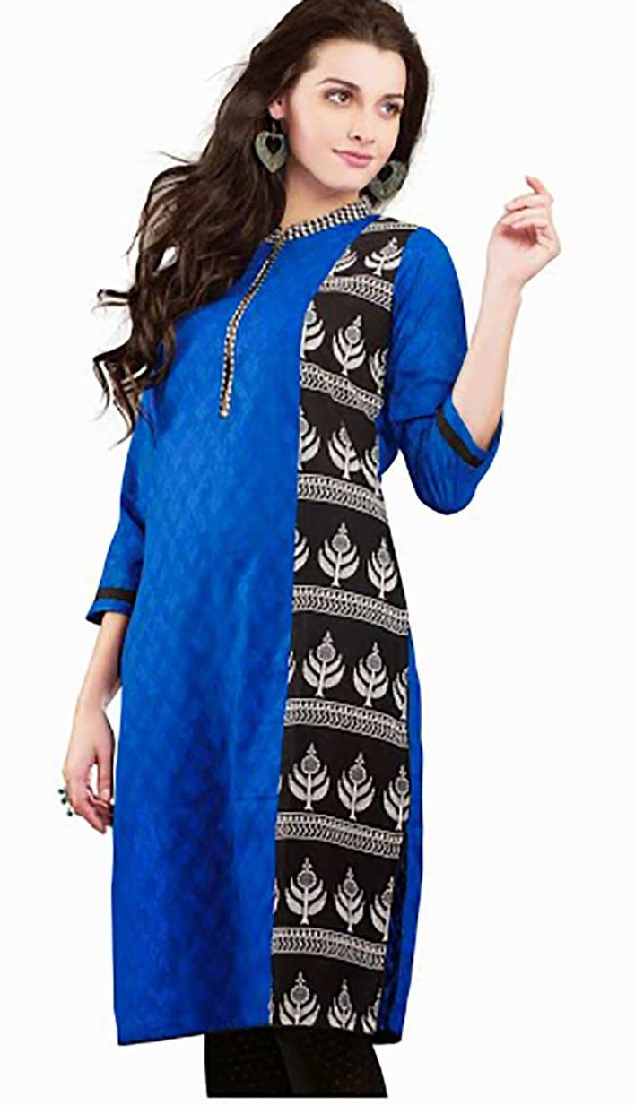 Get Traditional Beautiful #RoyalBlueCottonKurti Product code: KKR-42781 Price: INR 1850 (Readymade size), Color: Royal Blue Shop Online now: http://www.efello.com/indianethnic/Kurti-Traditional-Beautiful-Royal-Blue-Cotton-Kurti-Best-For-Online-Shopping-142687