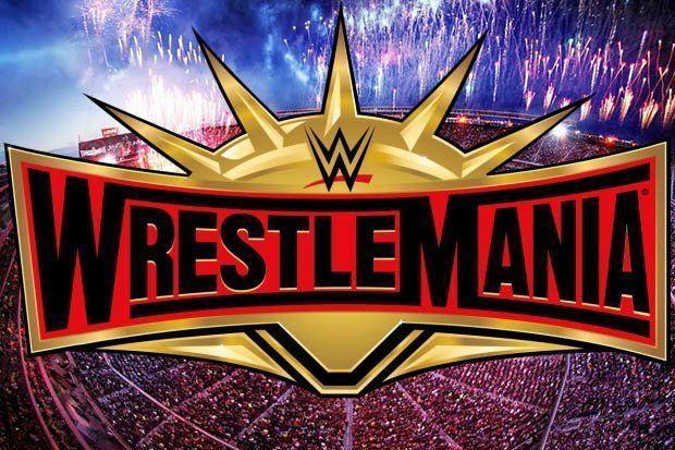 Wrestlemania Wrestlemania Wrestlemania 35 Wrestlemania Logo