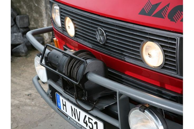 Used car VW T3 Syncro: The Piste Bulli - auto motor und sport
