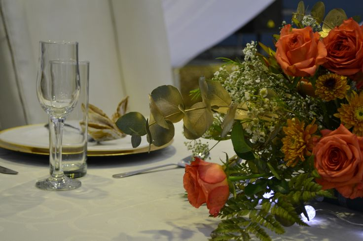 centerpiece: African Traditional, South African