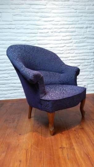 fauteuil crapaud vintage style art deco pinterest fauteuil crapaud fauteuils et le vieux. Black Bedroom Furniture Sets. Home Design Ideas