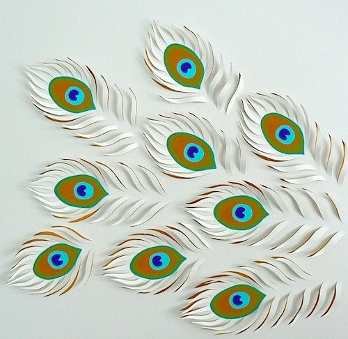 Artist Creates Intricate Hand-Cut Paper Works - DesignTAXI.com