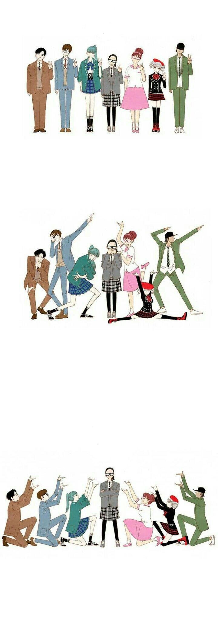 Beruntungnya wooyeon (●´∀`)ノ♡  || spirit Fingers || wooyeon song || Baebluefinger || seonho || bluefinger || mintfinger || pinkfinger || brownfinger || blackfinger || khakifinger || redfinger || komik webtoon line