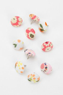 Fabric Thumbtacks, Pink contemporary home office products