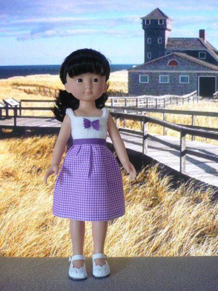 Tuto robe avec haut en tricot