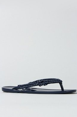 Melissa Shoes The Cute   Salinas III Sandal in Navy