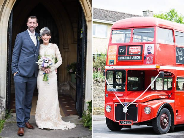 Real wedding: A unique DIY  wedding at  Blackfriars  Priory. Photographer: Melanie Chitty, Bristol