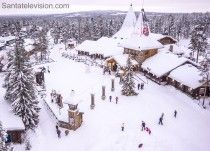 El Pueblo de Papá Noel Santa Claus en Rovaniemi en Laponia