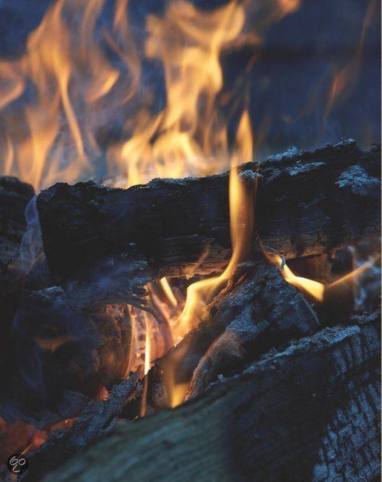 Klaar met eten? Gebruik de kolen om een gezellig kampvuurtje te bouwen #gezellig #zomeravond #BBQ
