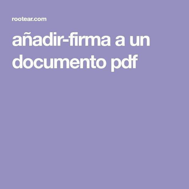 añadir-firma a un documento pdf