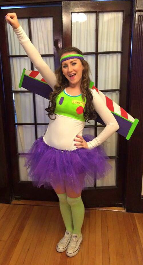 Toy Story Buzz Lightyear Kostüm selber machen   Kostüm-Idee zu Karneval, Halloween & Fasching