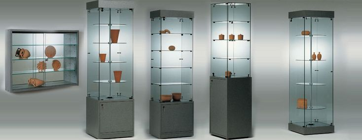 Glass Display Showcases, Shop Display Cases, Systems, Counters at PlanetDisplay UK