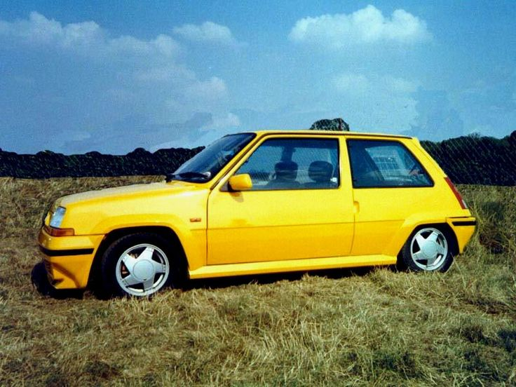 Renault 5 gt turbo ph2 yellow renault pinterest sciox Image collections
