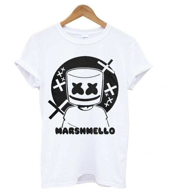 d3e24cc623a Music DJ Marshmello T shirt in 2019
