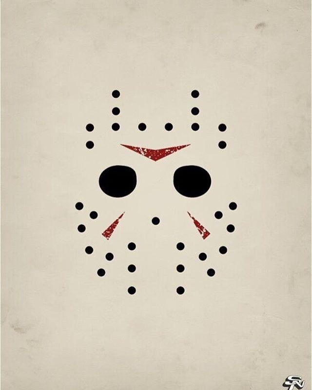 M s de 25 ideas incre bles sobre viernes 13 1980 en for Friday the 13th tattoos michigan