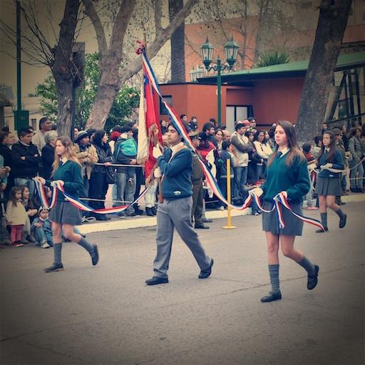 Desfile realizado en la ciudad de #quillota