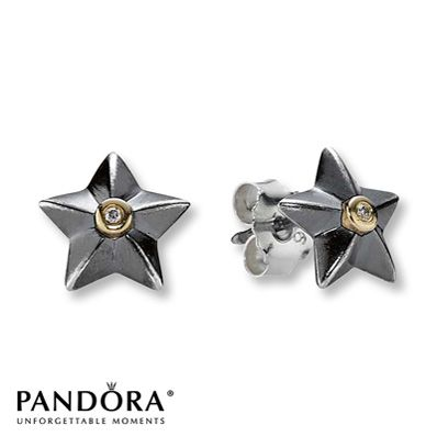 Pandora Stella Star Earrings