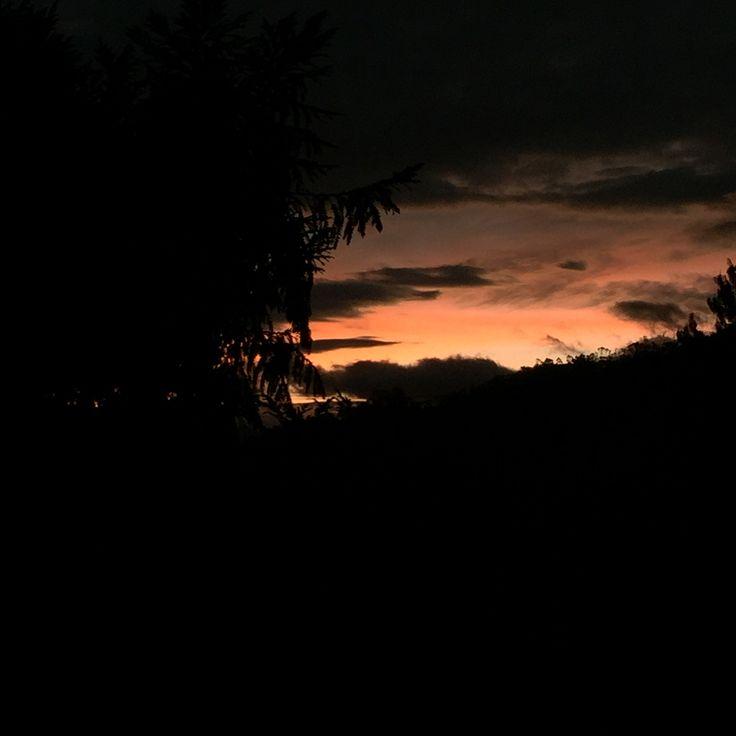 La Calera, Colombia. Sunrise 425 am.