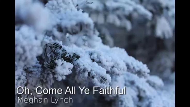Oh, Come All Ye Faithful Cover Meghan Lynch