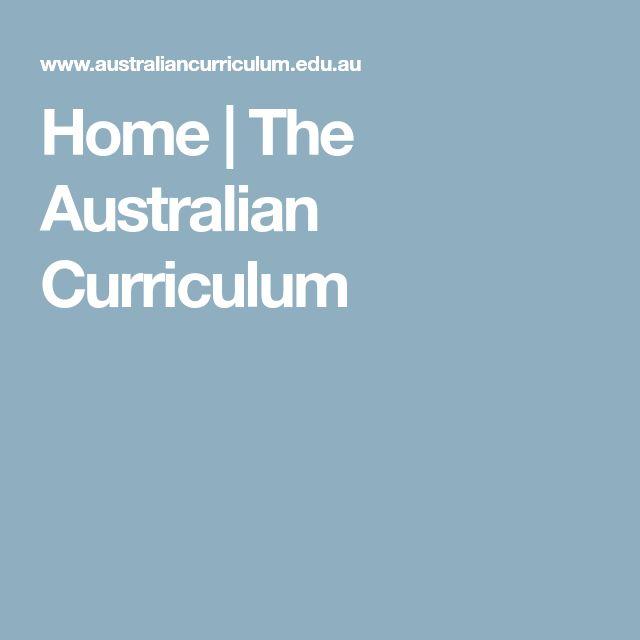 Home | The Australian Curriculum