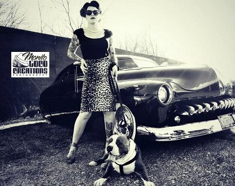 Model: Terry Burkhart  muah: Brittany Conchola  Photographer: Monito Loco…