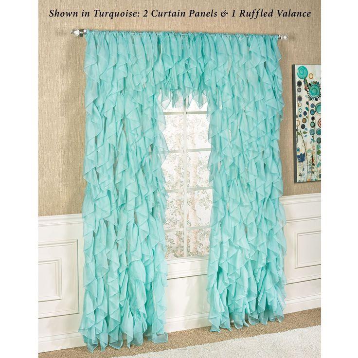 Retro Bedroom Lighting Sheer Curtains Bedroom Nautical Bedroom Decor Zebra Print Bedroom Decor: Best 25+ Ruffled Curtains Ideas On Pinterest