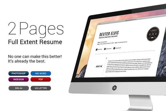 Check out Swiss Style Resume\/CV Set Template by SNIPESCIENTIST on - can a resume be 2 pages