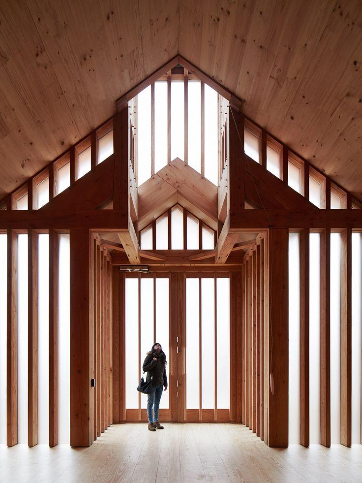 Belarusian Memorial Chapel by Spheron Architects architecture Belarus