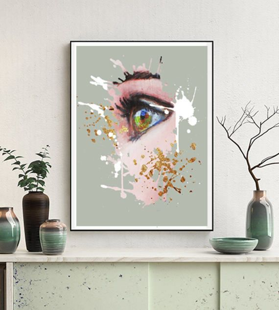 Woman Art Printable, Cool Posters, Posters and Prints by ENORASIS