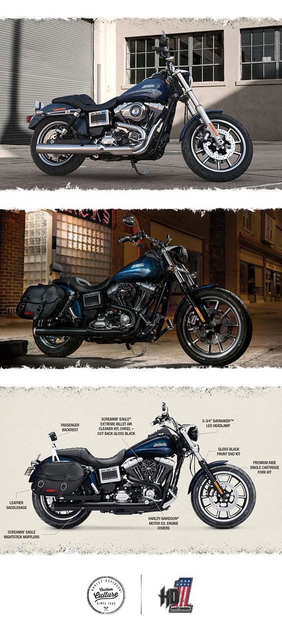 This icon holds true to its heritage. | 2016 Harley-Davidson Low Rider
