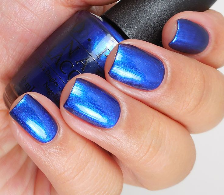 Blue Polish Nail Spa: Best 25+ Bright Blue Nails Ideas On Pinterest