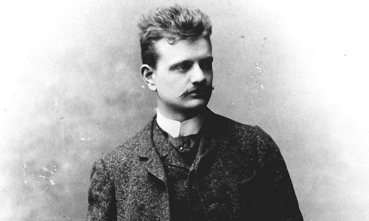Jean Sibelius, our national composer. This picture is from the year 1891.  #Sibelius #old #Finland #composer #Jean