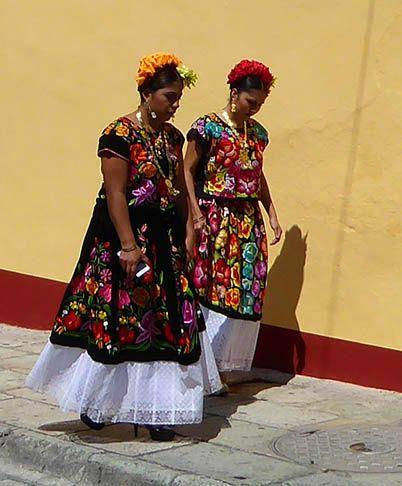 The Streets of Oaxaca, Mexico