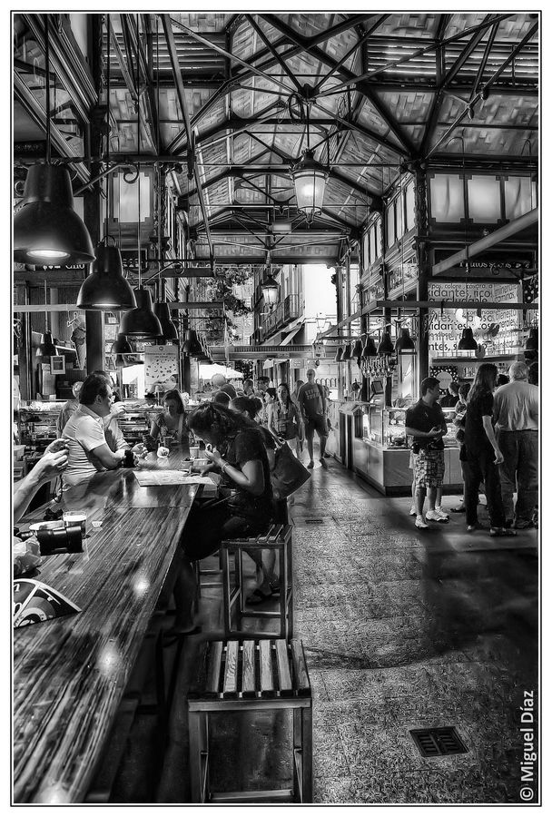 Mercado de San Miguel by Miguel Diaz, via 500px