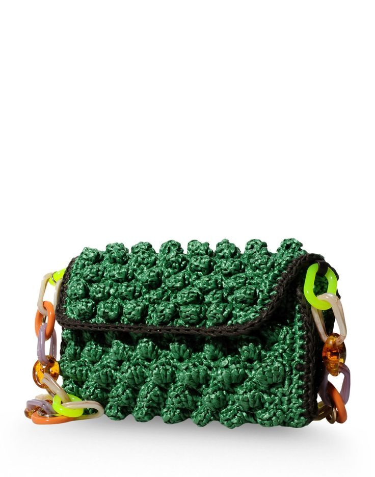 M Missoni Multicolor Knit Clutch