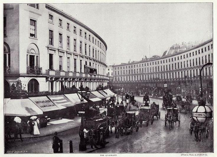 Regent Street, London, 1896