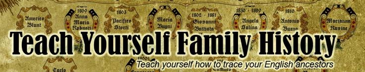 Teach Yourself Family History