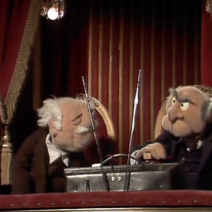 """3,511 Likes, 41 Comments - The Muppets (@themuppets) on Instagram: """"Statler and Waldorf know good TV when they see it... and to them, anything that doesn't star us is…"""""""