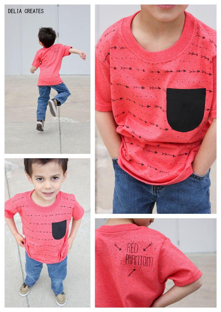 delia creates: Sharpie Art Shirts (+ more T-shirt Inspiration)