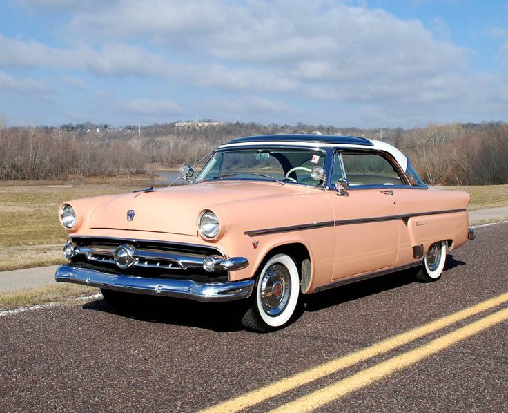 1954 Ford Skyliner My Uncle Ray Who Got A New Car Every 3