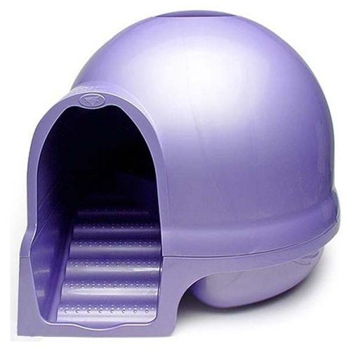 Dome Litter Box With Stairs