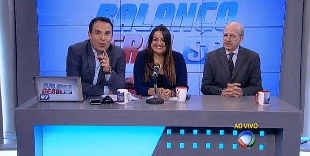 Conversas & Controversas: PROGRAMA BALANÇO GERAL DA REDE RECORD - PALCO DE P...