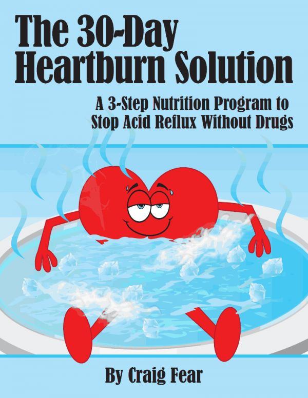 How to Cure Heartburn Without Drugs