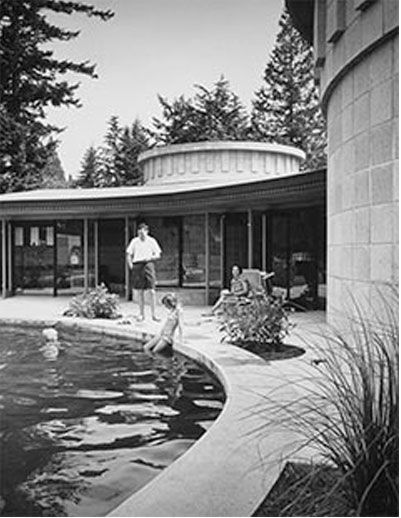 Tretheway residence: Abbotsford, BC. Architect Fred T. Hollingsworth. C. 1959