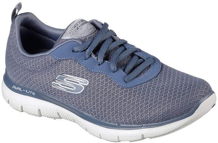 Skechers Flex Appeal 2.0 Womens Walking Shoes Lace up in